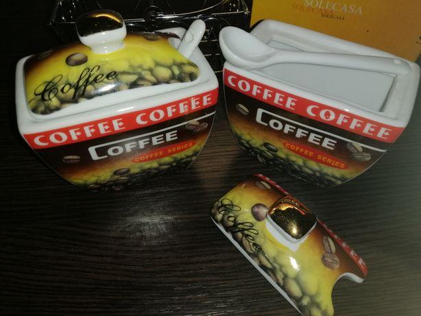 Посуда для кофе и сахара