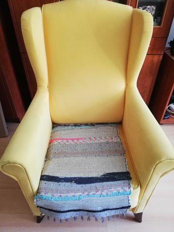Fotel typu uszak