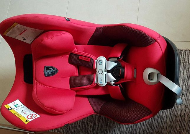 Cadeira auto cybex scuderia Ferrari Grupo0/1