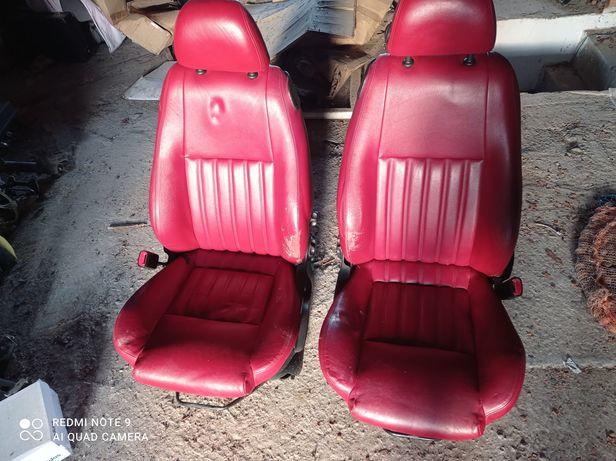 Fotel, fotele alfa Romeo 147 3d 5d czerwona skóra,  kanapa