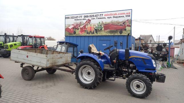 Прицеп тракторний 1ПТС -0,8