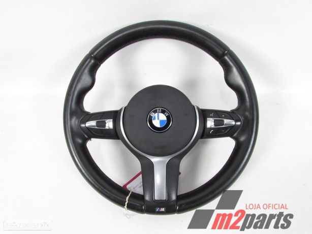 Volante M C/ Airbag Seminovo/ Original BMW/X3 (F25)/xDrive 28 i | 04.11 - /xDri...