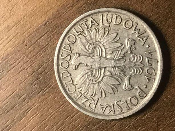 moneta PRL 2 zł jagody 1971 r