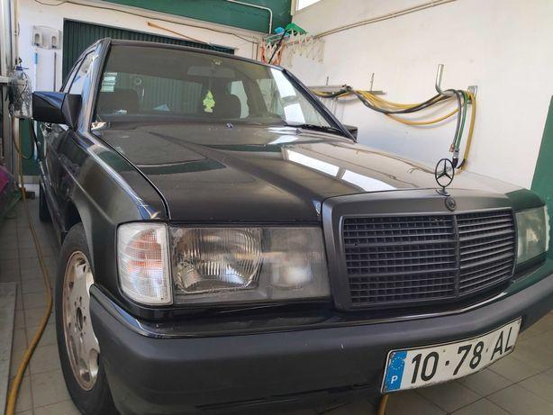 Mercedes 190d em bom estado