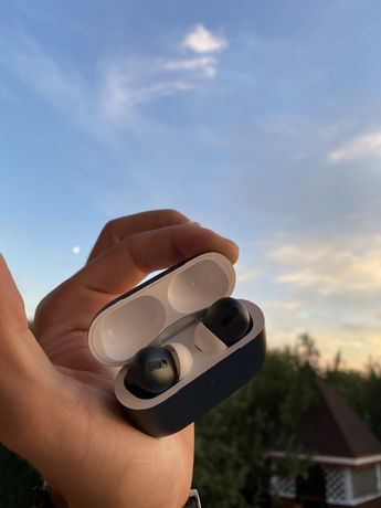 Airpods pro кастомные покрас midnight green