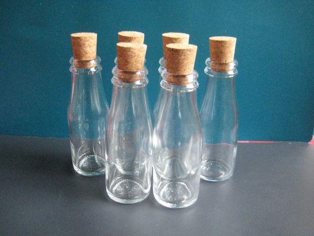Lembranças para casamento: garrafa mini + rolha = 0,25 euros
