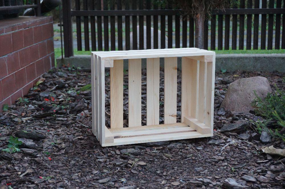 skrzynka drewniana, na owoce, skrzynka dekoracyjna, skrzynki drewniane Błonie - image 1