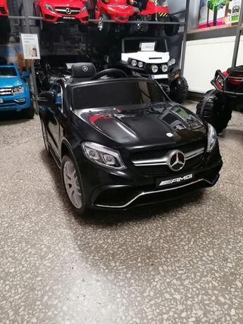 Samochód Mercedes Benz GLE63 AMG na akumulator Czarny