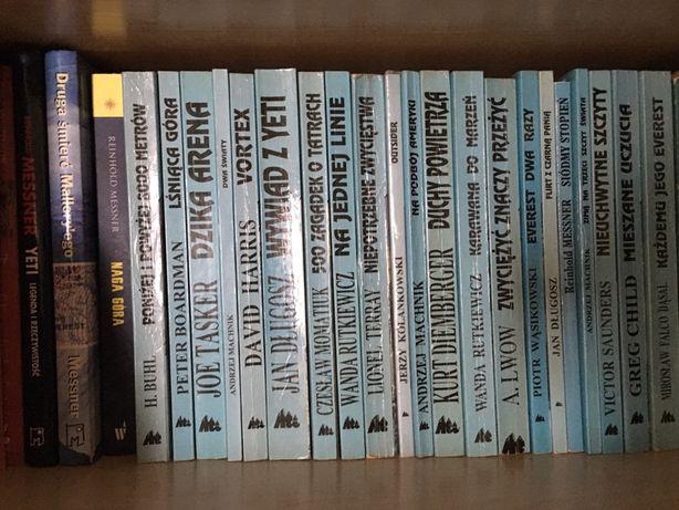 Literatura górska z seria Z Trójkątem ATI 27 książek Góry wspinaczka