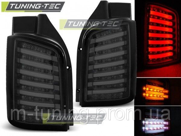 Диодные фонари LED тюнинг оптика Volkswagen VW T5 (ляда) 2003-2015 Т5
