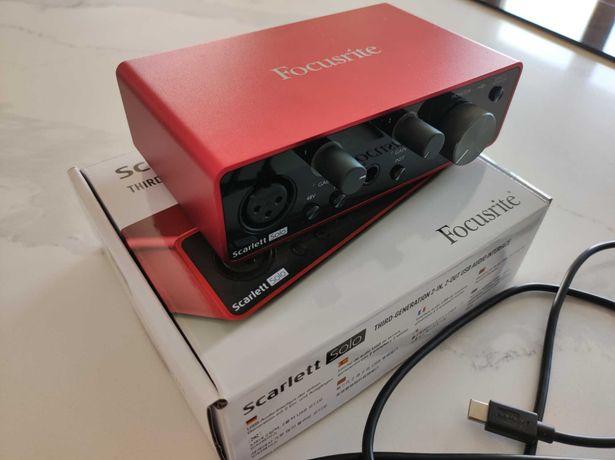 Interface audio Focusrite Scarlett Solo 3gen