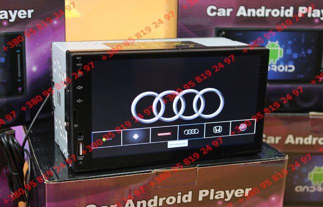 GPS Магнитола Universal A7002-Z 2DIN, Android 10.1, WIFI/BT/FM.