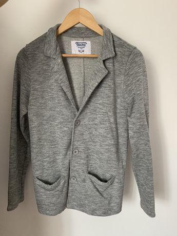 Пиджак стильный, трикотажный 12-14 лет