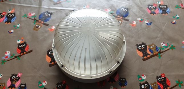 Luminária usada em bom estado