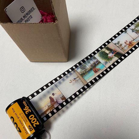 Брелок фотопленка с вашими фотографиями