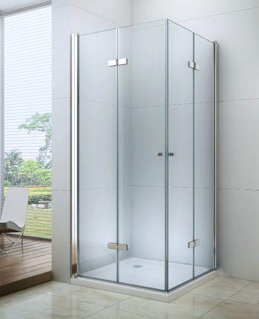 KABINA PRYSZNICOWA składana dowolne rozmiary od 70 do 100 cm szkło 6mm