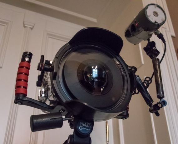 Obudowa Ikelite + Canon 6D + EF 15 mm Fisheye + lampa Ikelite DS 160