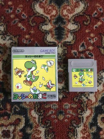 Yoshi No Tamago/Yoshi Egg Nintendo GameBoy Box MIJ