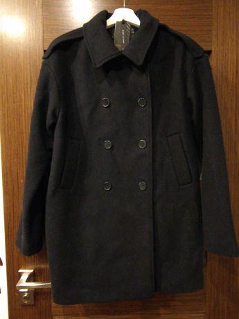 Nowy klasyczny płaszcz z wełną rozm 38 Reserved