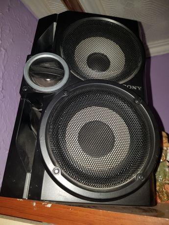 Wieża  mocna głośniki Sony