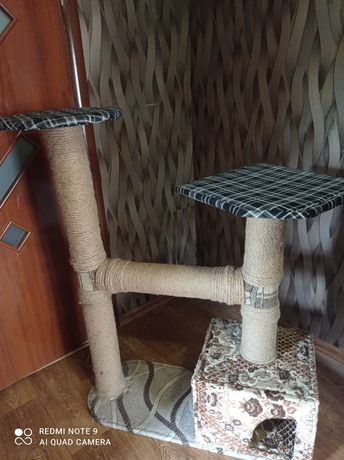Кошачий шикарный дом
