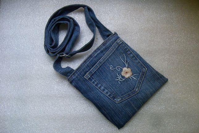 Продам сумку джинсовую