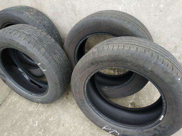Opony 225/55/18 2x Continental 2x Bridgestone