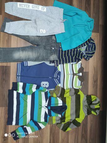 Ubranka chłopiec r.80-98