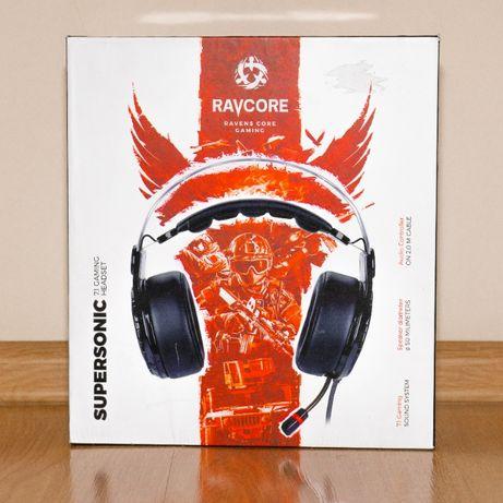 Słuchawki gamingowe RAVCORE Supersonic 7.1 !!!OKAZJA!!!
