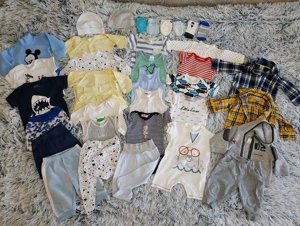 Срочно!!  Набор детских вещей 56-68 на 1-3 месяца детские