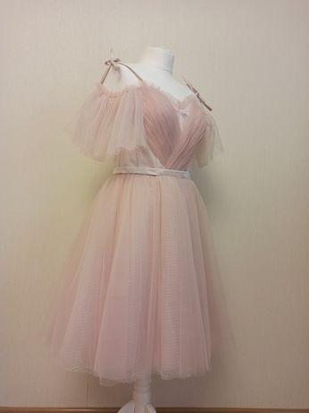 Платье вечернее нарядное, размер 46 s-m, женские платья
