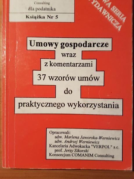 Umowy Gospodarcze 37 wzorów prof. Jerzy Sikorski