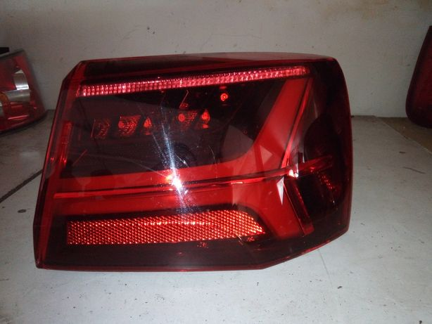 Audi A6 C7 Avant - Lampa tył tylna prawa LED Matrix w błotnik