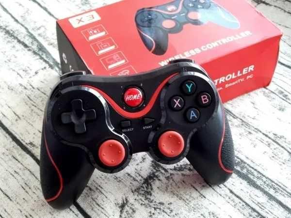 Беcпровoдной джойстик terios x3 c держатeлем игрoвой bluetooth геймпад