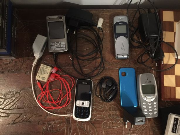 4 Telemóveis por testar reparar antigos