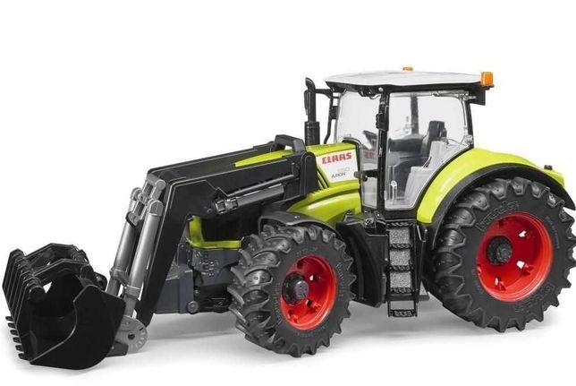 BRUDER 03013 Traktor Class Axion 950 z ładowaczem czołowym