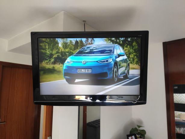 Vendo TV LG 37 e suporte TV