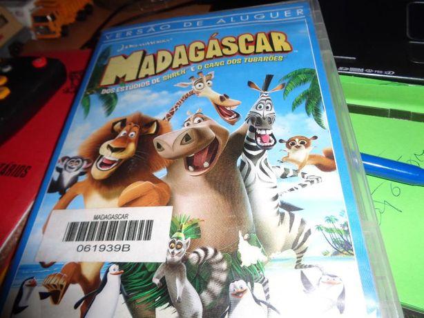 DVD Madagáscar Bonecos usado