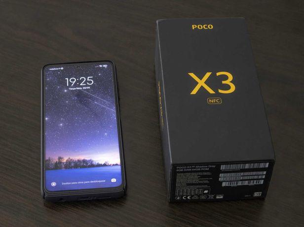 Xiaomi POCO X3 NFC 6GB 64GB Rom Global + Extras (Garantia até 09/2022)