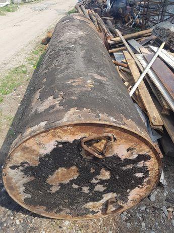Zbiornik 5000 litrów metalowy deszczówka szambo beczka