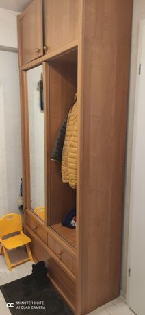 Garderoba buk super stan 238 x 108 x 45