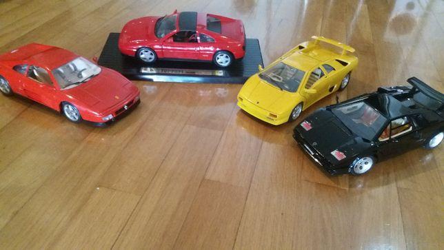 Carros burago - Ferrari, Porshe, lamborghini, alfa romeo
