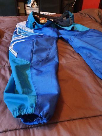 Calças, luvas, camisola, para moto enduro e motocross
