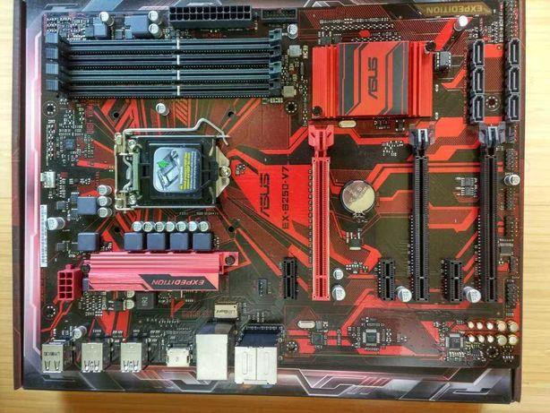 Комплект для майнинга Asus EX-B250-V7 +G3900+4Gb DDR4 гарантия