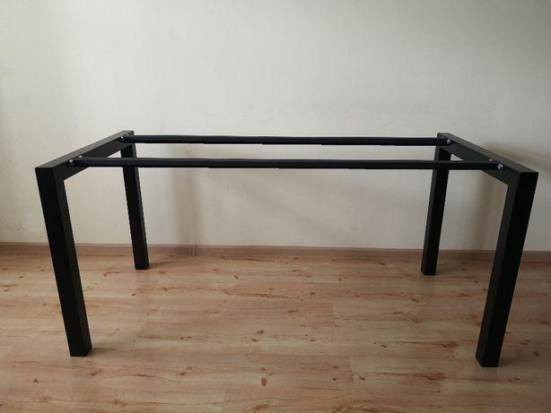 Nogi stołu LOFT NA WYMIAR SOLIDNE stelaż pod stół dębowy industrialny