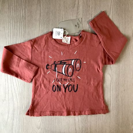 Реглан ZARA 80см для хлопчика 9-12 міс Лонгслив Carters next футболка