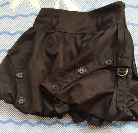 Черная юбка в школу.