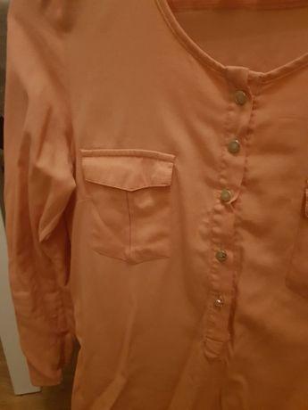 Koszula Bluzka 3/4 firmy house Orange rozm s kolor pomaranczowy
