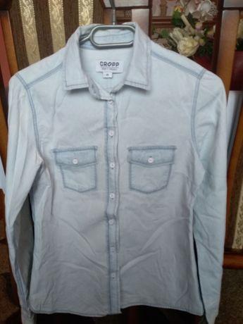 Koszula jeansową firmy croop rozmiar XS.