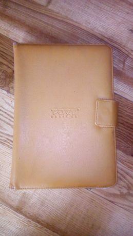 Чухол-книжка на планшет, оранжевий